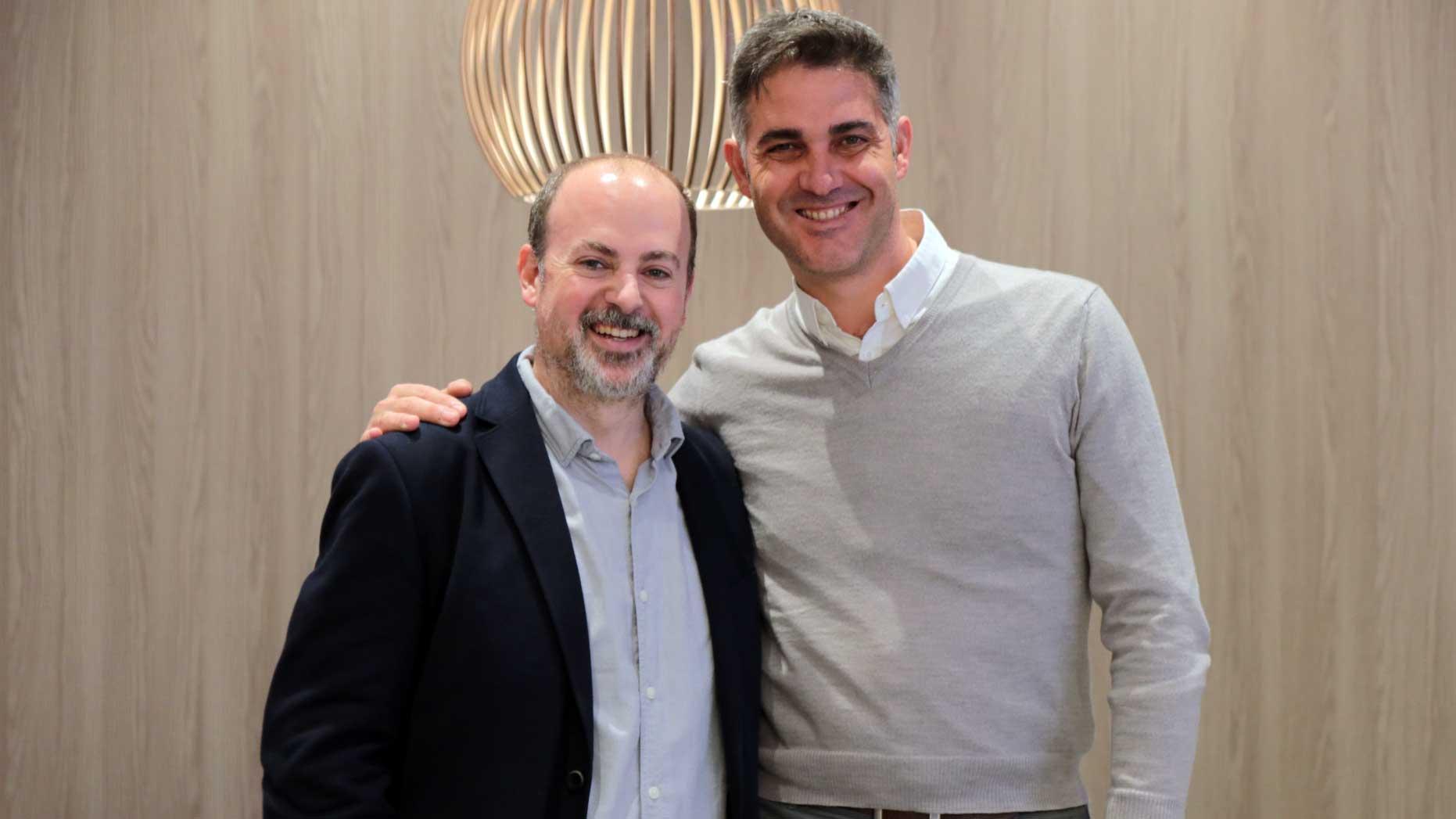 Xavi Calvo y Pedro González, en Design Works 2020