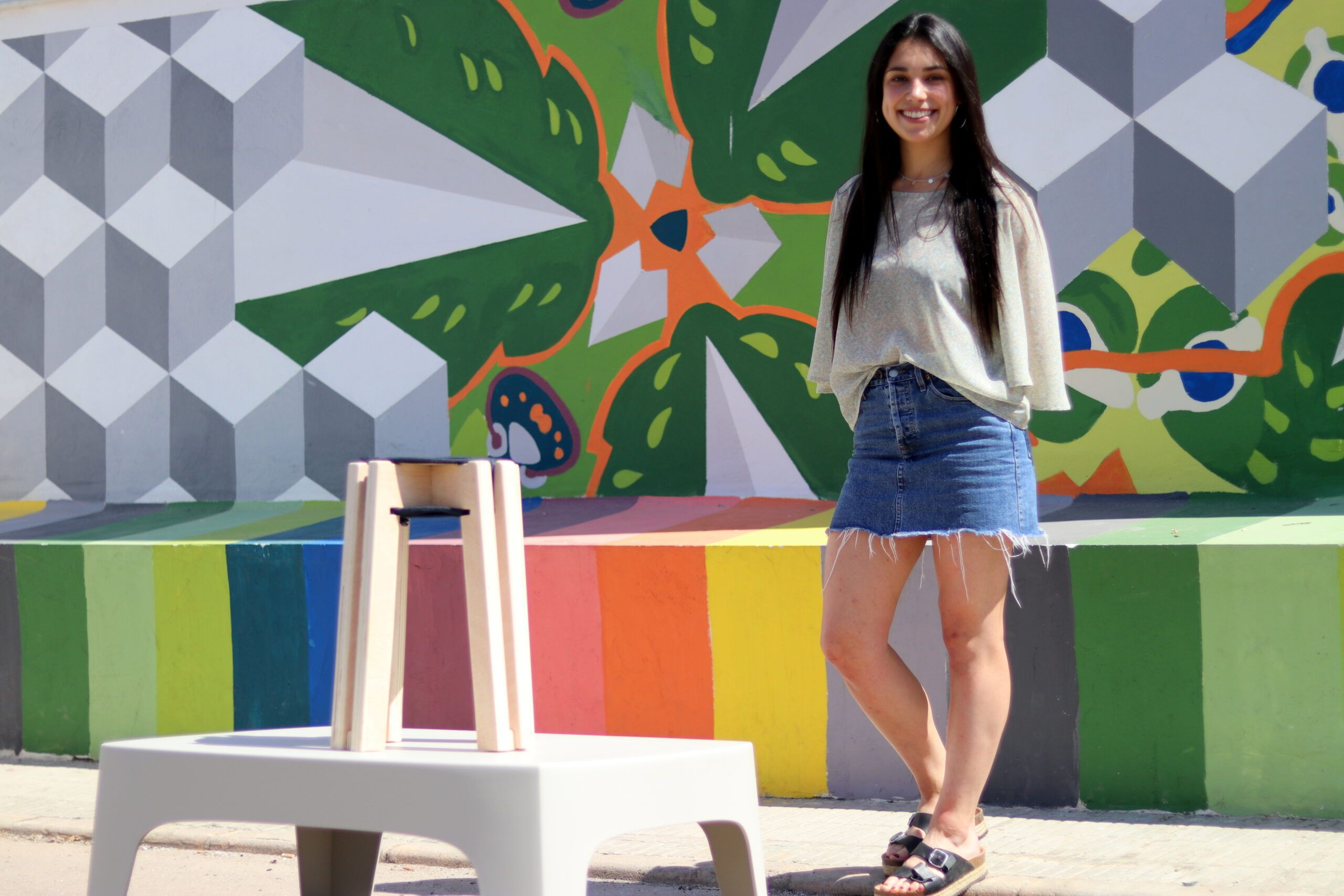 Lourdes Martín Miralles, student of 2nd Year of Industrial Design