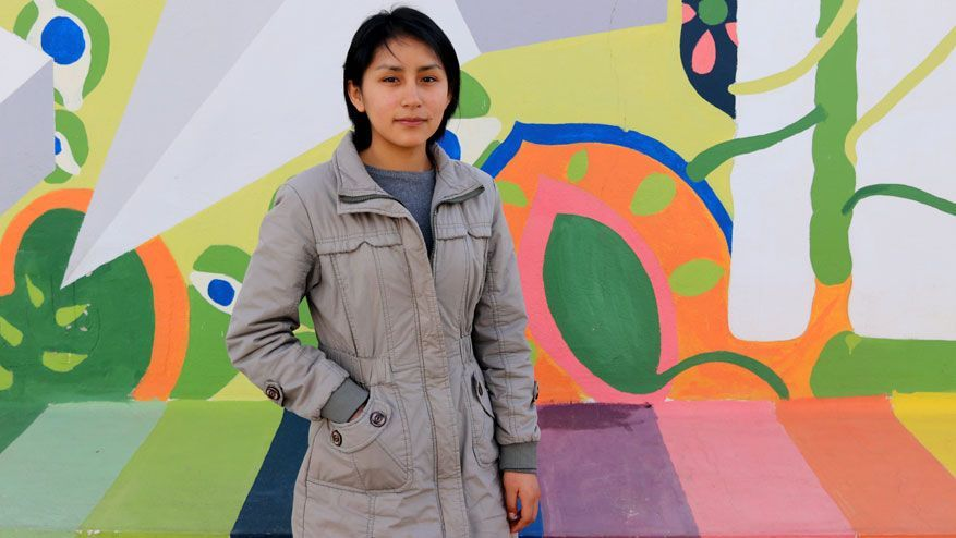 Anabel, international student from Peru, is now in her second year of our degree in Industrial Design