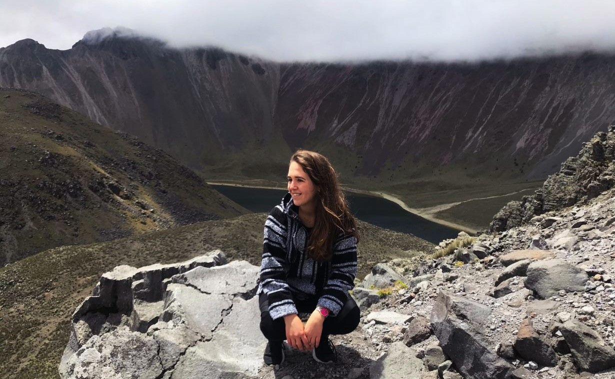 At the Nevado de Toluca