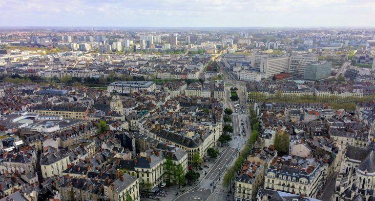 View of Nantes, Elena's Erasmus+ destination
