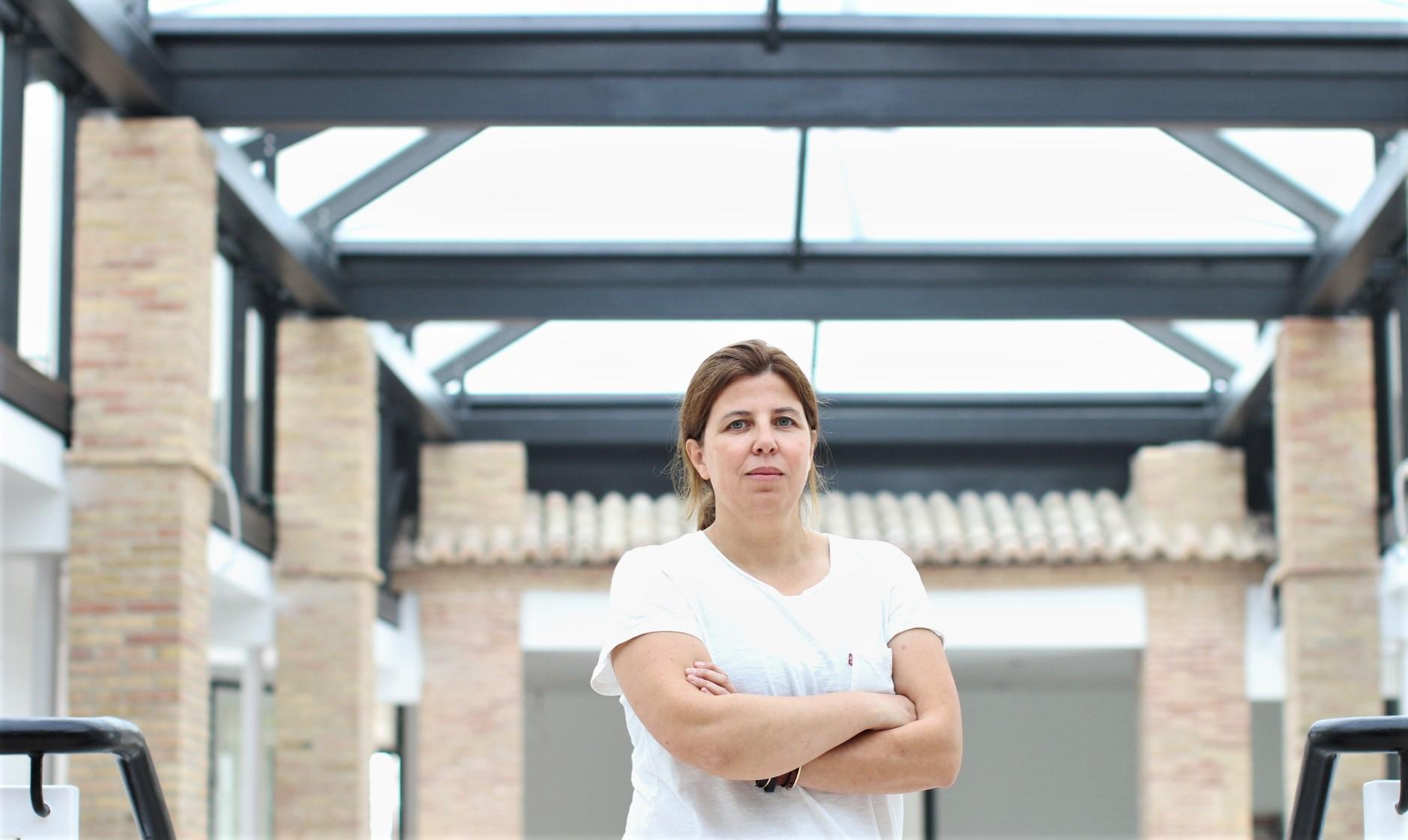 Ana Criado, creative director in Hollywood, in CEU Valencia