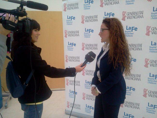 Amparo Salmerón entrevista nuestra alumna Lucía Górriz