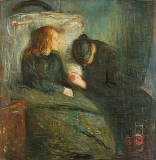 Munch_the sick child_1896_