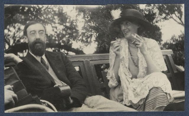 Giles Lytton Strachey y Virginia Wolf