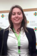 Marta Bel, alumna de 3º de Grado de Enfermería