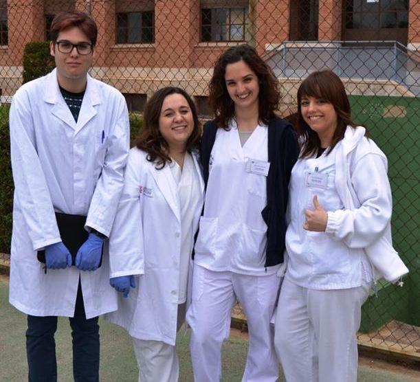 Marc, Sandra, Claudia y Raquel