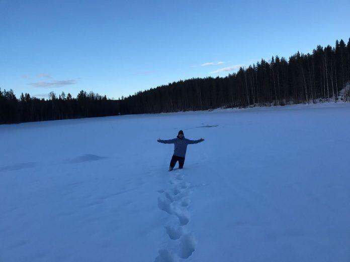Álvaro, enjoying Norway!