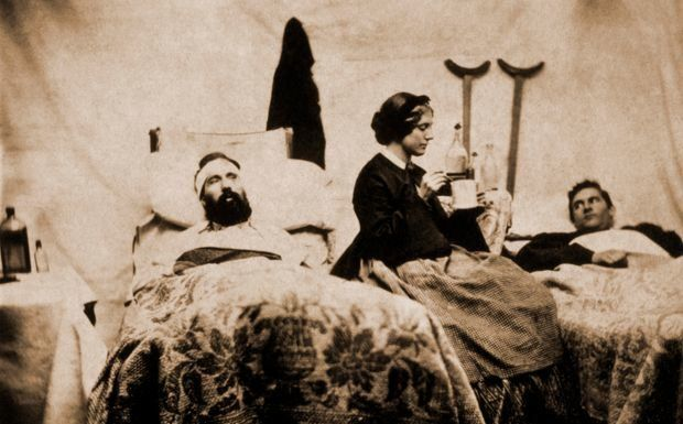 Clara Barton tended to injured soldiers during the Civil War. Source: wsj.com