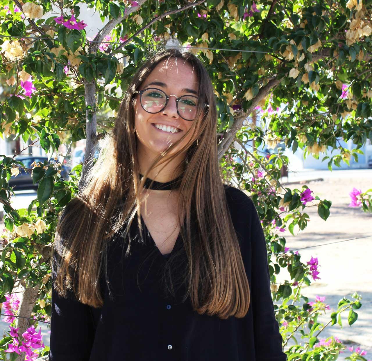 María Zahonero, estudiante de 4º de Farmacia