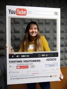 Participando en el casting de Youtube