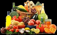 Frutas y verduras de una dieta equilibrada