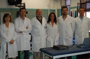 Varios Profesores del Departemento de Fisioterapia de Universidad CEU-UCH