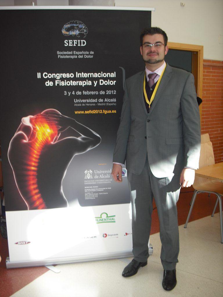 El Dr. Amer, ponente del CEU-Cardenal Herrera en el II Congreso de la SEFID
