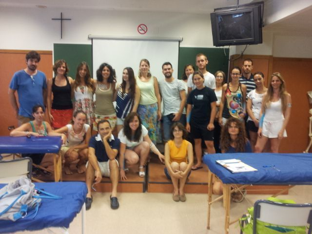 Los-participantes-en-el-curso-taller-de-DLM-Universidad-de-Verano-UCH-CEU-2013