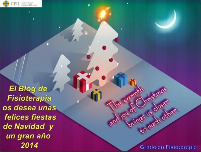 Felices Fiestas os desea el Blog de Fisioterapia UCH-CEU