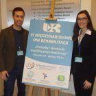 Los profesores de Fisioterapia de la UCH-CEU, Benavent y Arguisuelas, en el VI Congreso de Rehabilitacion de Polonia