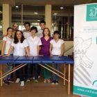 Inma Ambou y Suelen Cervelli con el equipo del ICOFCV capitaneado por Jesus Ramirez y Bibiana Font, en la II Roller Castellón