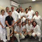 Grupo con varios participantes en el taller de taping celebrado en el Hospital General de Valencia