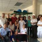 Grupo de fisioterapeutas del taller de taping realizado en el Centro de Salud Torrent II en junio de 2014