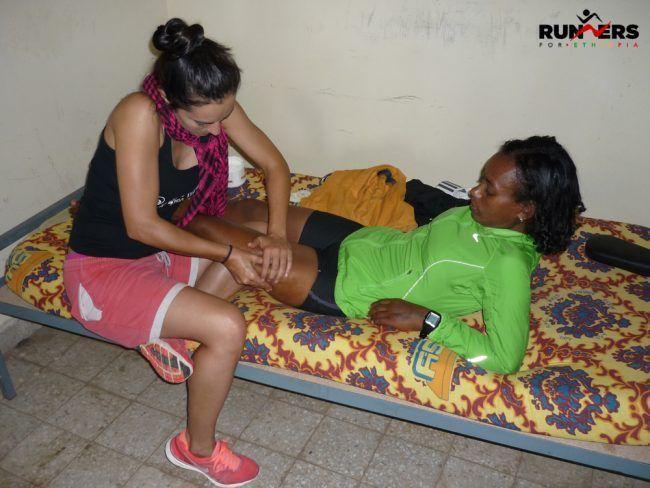 Fisioterapeuta en Etiopia