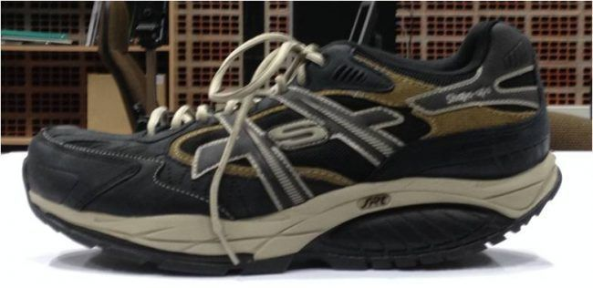 Calzado inestable utilizado en el estudio del equipo del profesor Pablo Salvador