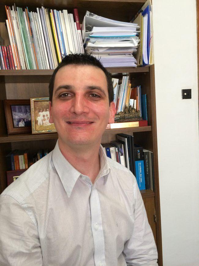 El profesor de Fisioterapia de la UCH CEU, Pablo Salvador