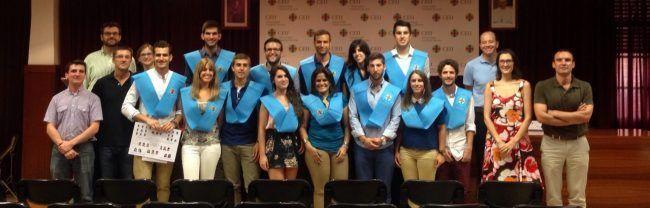 Alumnos y profesores del master de Fisioterapia de la CEU-UCH