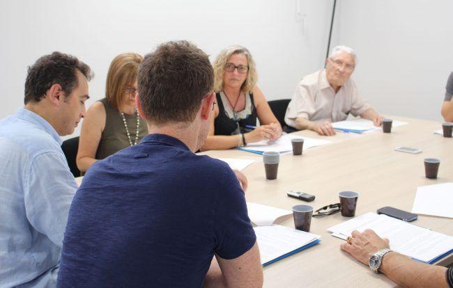 Sesión del grupo focal de usuarios de Fisioterapia reunido en el Hospital General de Valencia el 19 de junio de 2015