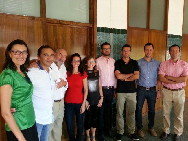 El equipo de profesores de Fisioterapia de la CEU-UCH en Valencia en el comienzo del curso 2015-16