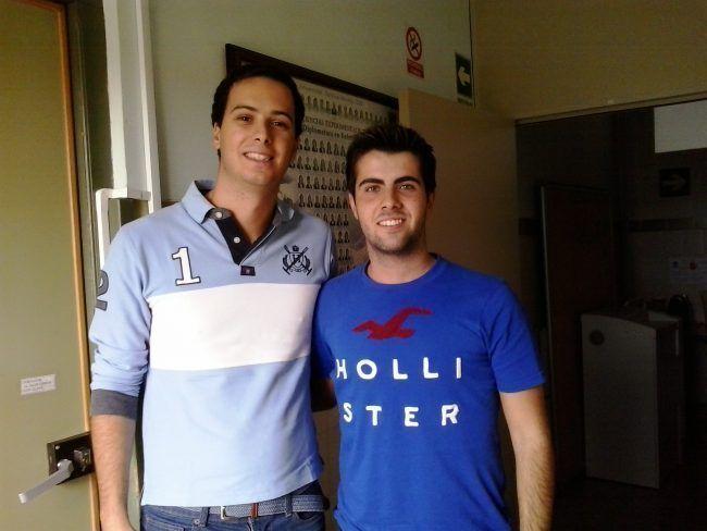 Ismael Vargas y David Pellicer, nuevos delegado de 3ºA de Fisioterapia en la CEU-UCH