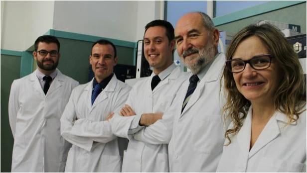 Los profesores Amer, Lisón, Benavent, Rosado y Segura, autores del estudio sobre ejercicio en personas mayores