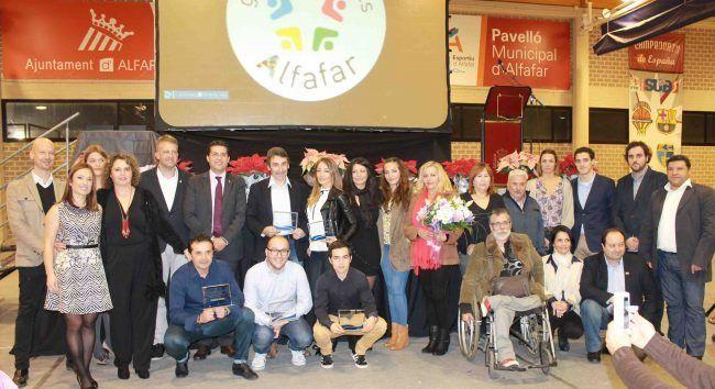 Premiados en la Gala del Deporte de Alfafar de 2015