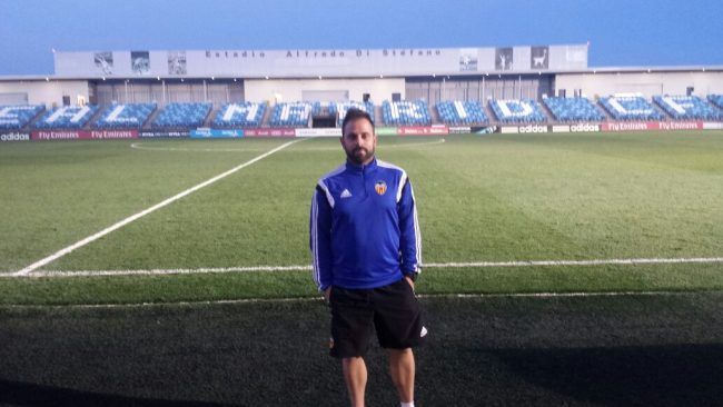 David Valenzuela, un profesor apasionado por el fútbol
