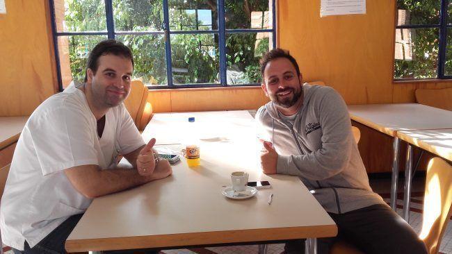 Jaime Gascó y David Valenzuela, profesores de Fisioterapia de la CEU-UCH