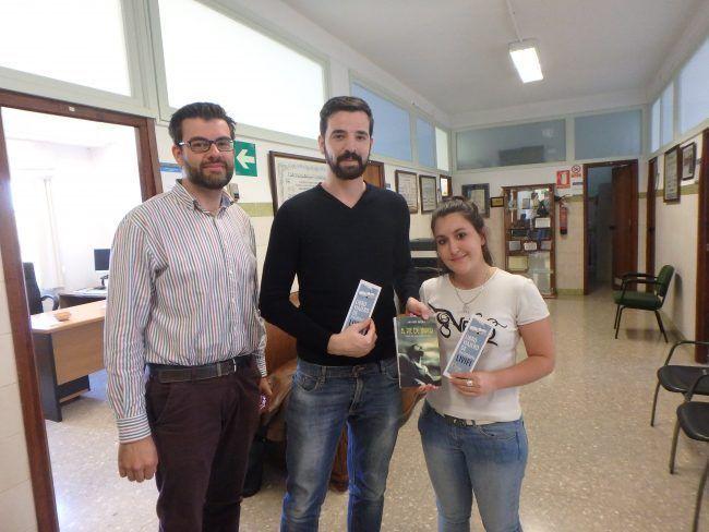 Juan José Amer con Thierry y Alexandra.