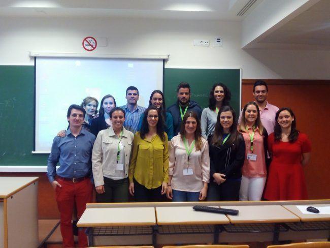 Participantes de Fisiotearpia en el Congreso.