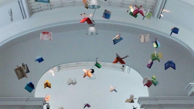 Libros voladore, de Victoria Cano.