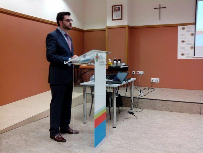 El profesor Juanjo Amer, nuevo profesor agregado de la CEU Cardenal Herrera