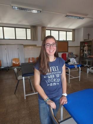 Marta Ferrando, entre foto y foto.