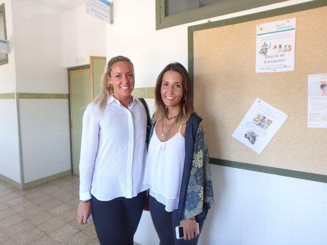 Alejandra y María