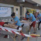 Paco y nuestros alumnos de fisioterapia.