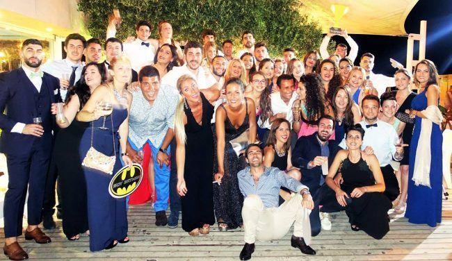 Los chicos y chicas de la XII Promoción de Fisioterapia se lo pasaron en grannde en su Cena de Gala