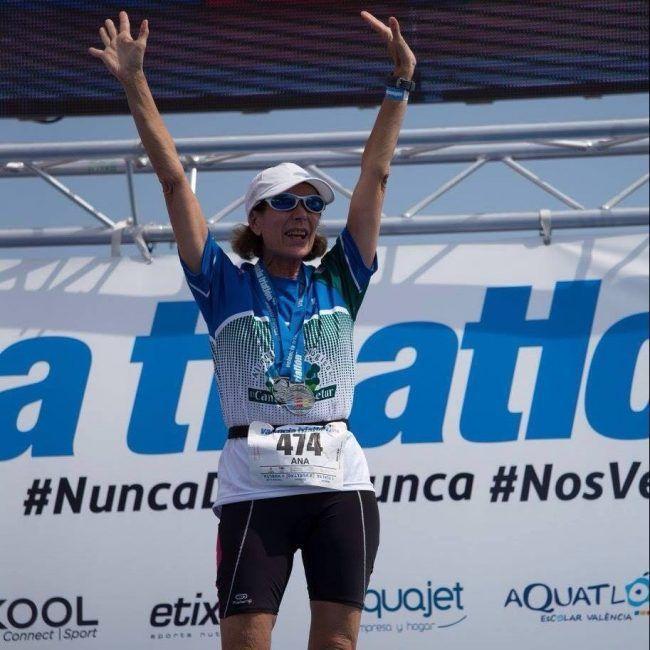 Ana Garés vuelve a ganar el Triatlón Valencia en su modalidad