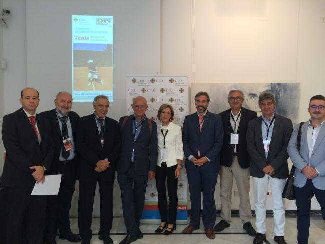 Ponentes y organizadores de las III Jornadas CEU de Lesiones en el Depoerte