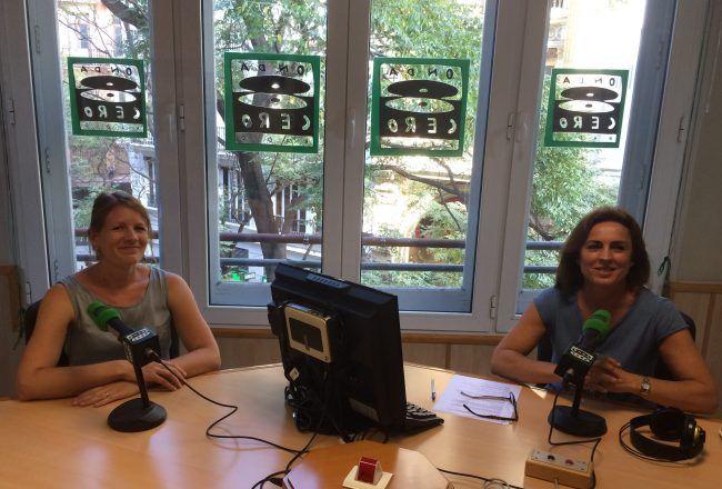 Claudia Zilkens entrevistada por Mari Paz Fernández en Onda Cero Valencia