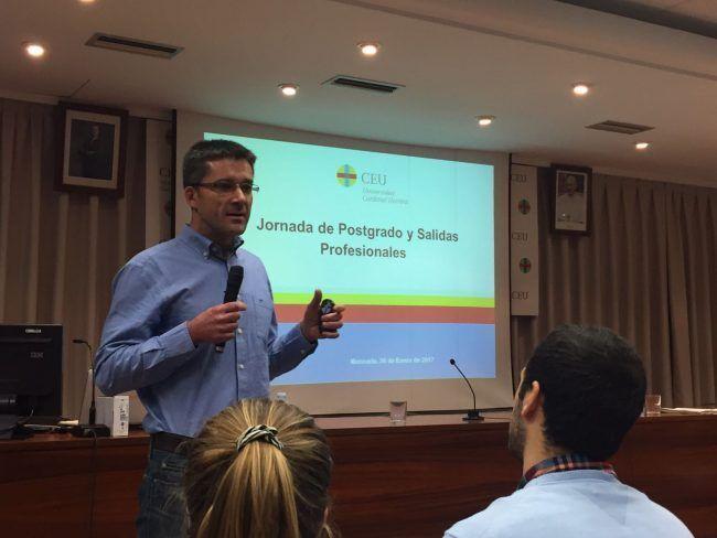 El profesor Javier Martínez Gramage disertó sobre el postgrado en Fisioterapia Neurológica