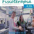 Claudia Zilkens, portada del último número de Fisioteràpia al Dia