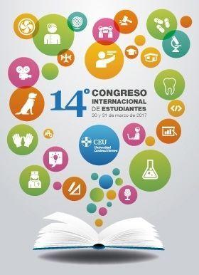 Cartel del XIV Edición del Congreso Internacional de Estudiantes
