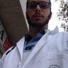 Ismael Vargas, durante su prácticum de Fisioterapia en la UCH-CEU